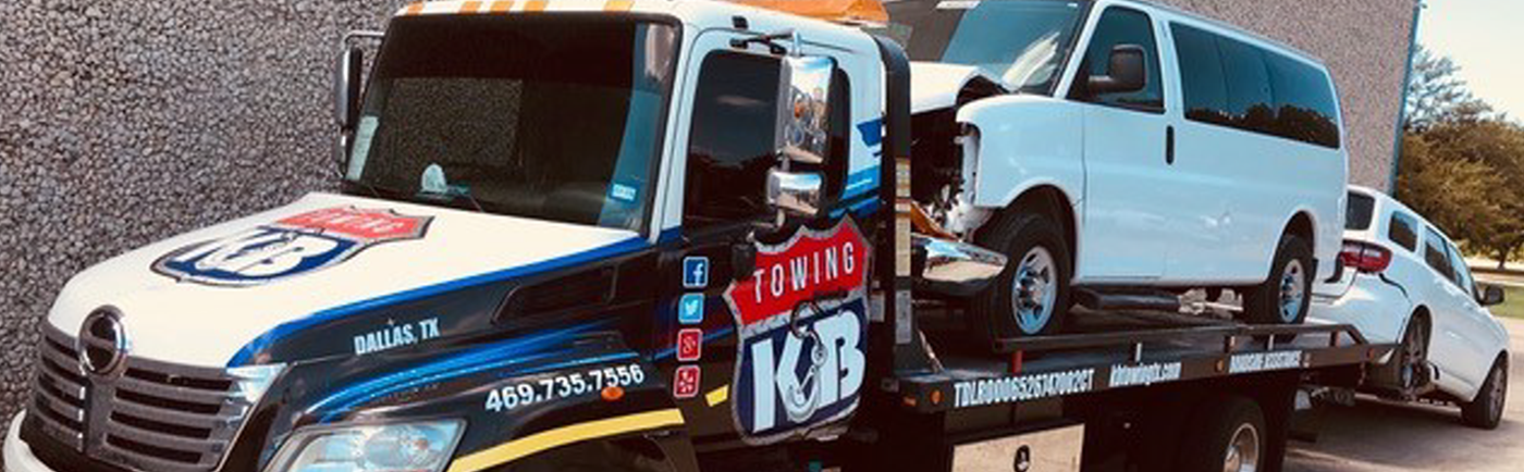 KB Towing | Dallas County, TX Emergency Flatbed & Wheel Lift